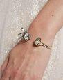 """LANVIN Bracelet Woman """"CRISTAL DE ROCHE"""" CUFF BRACELET f"""