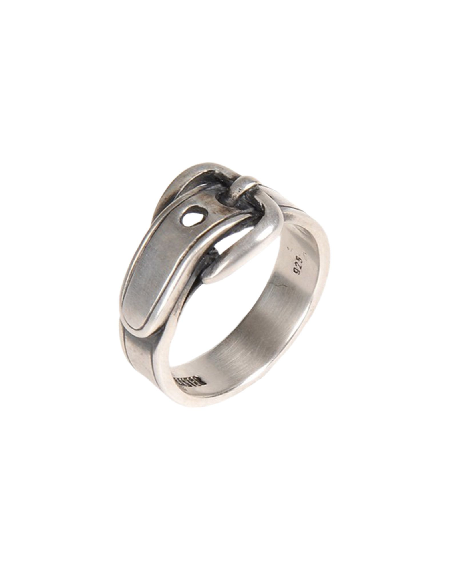 ANN DEMEULEMEESTER メンズ 指輪 シルバー 3 金属