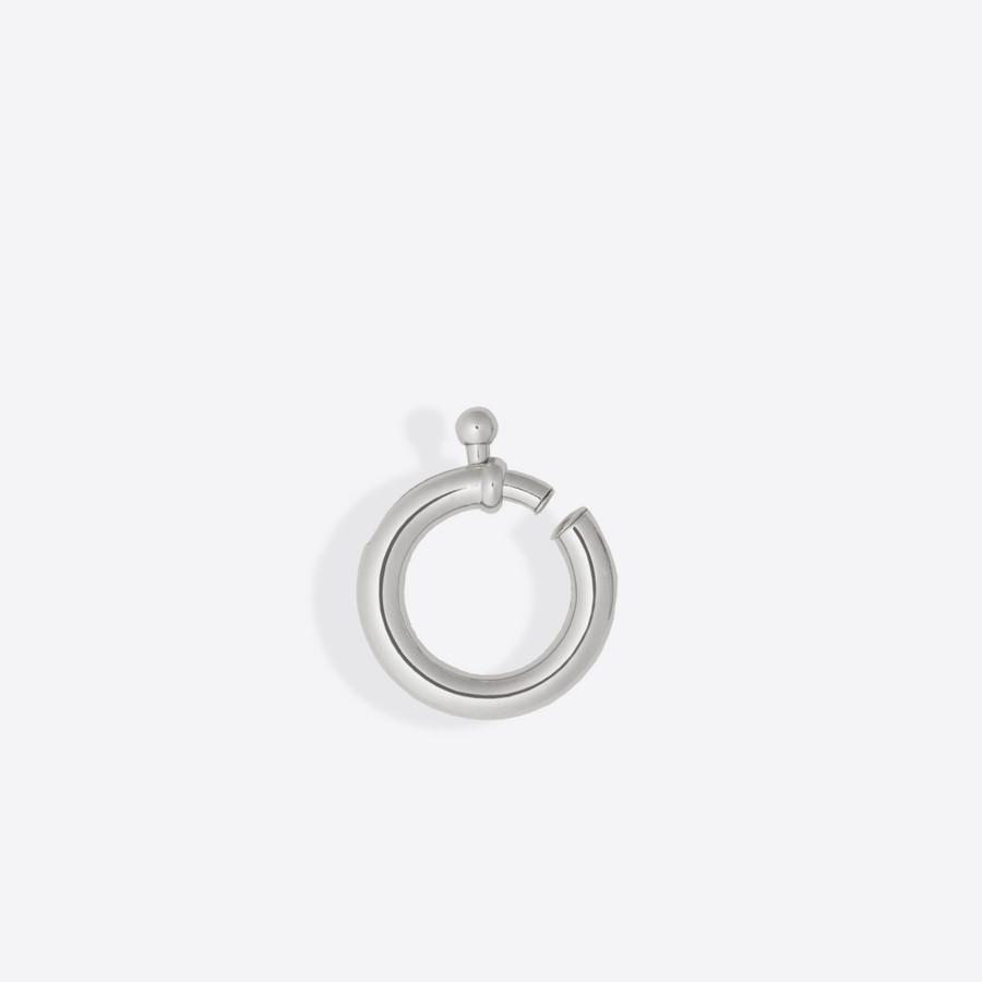 BALENCIAGA Karabiner Earcuff Karabiner Jewelry D f