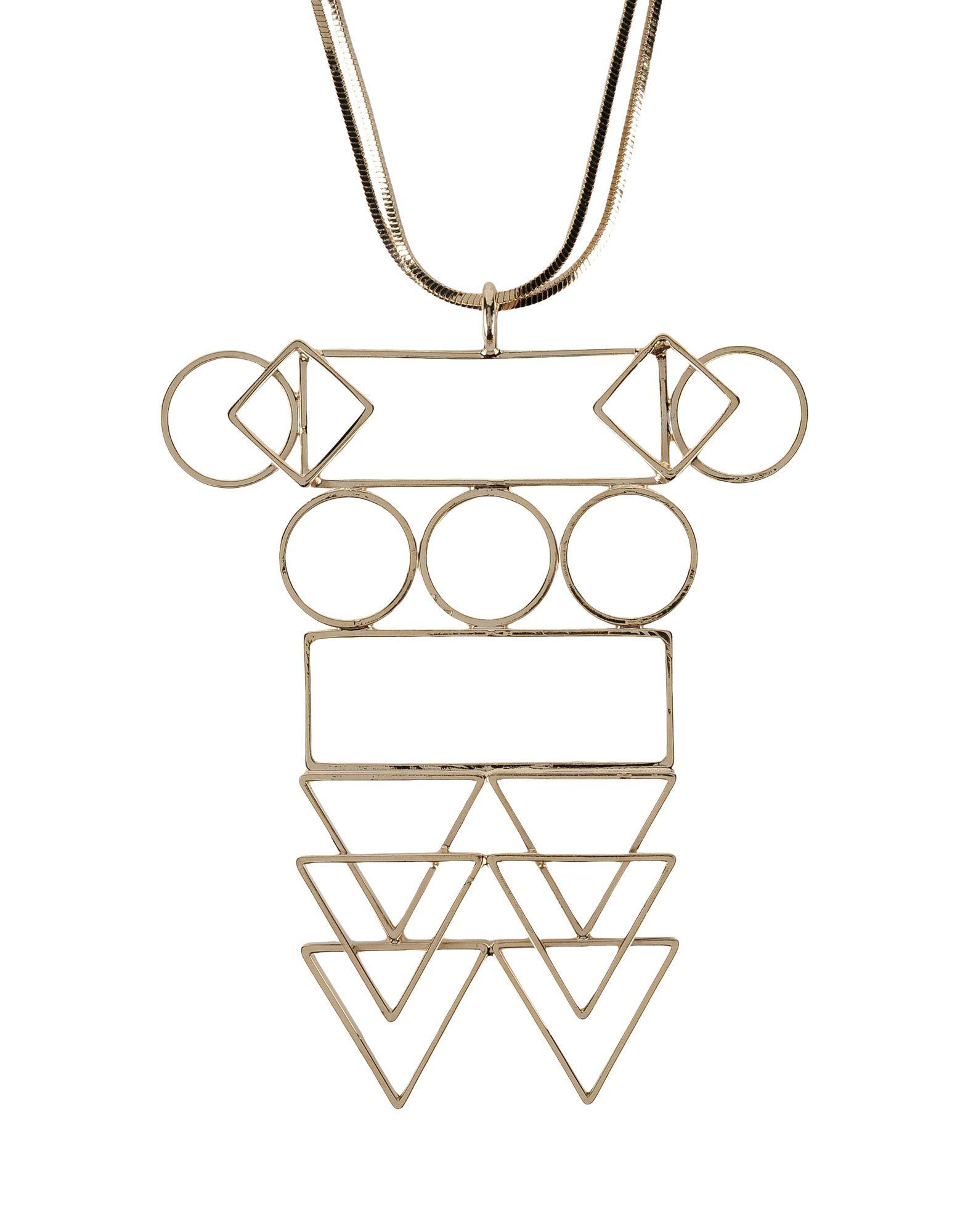 《送料無料》NANNI レディース ネックレス ゴールド 金属 100%