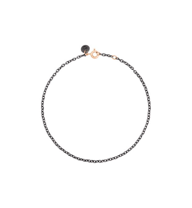 DODO Bracelet E Bangle with brown diamonds f
