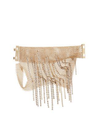 LANVIN FRINGED CHAINMAIL MITTEN BRACELET Bracelet D f