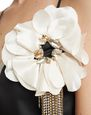 LANVIN Brooch Woman FLOWER BROOCH f