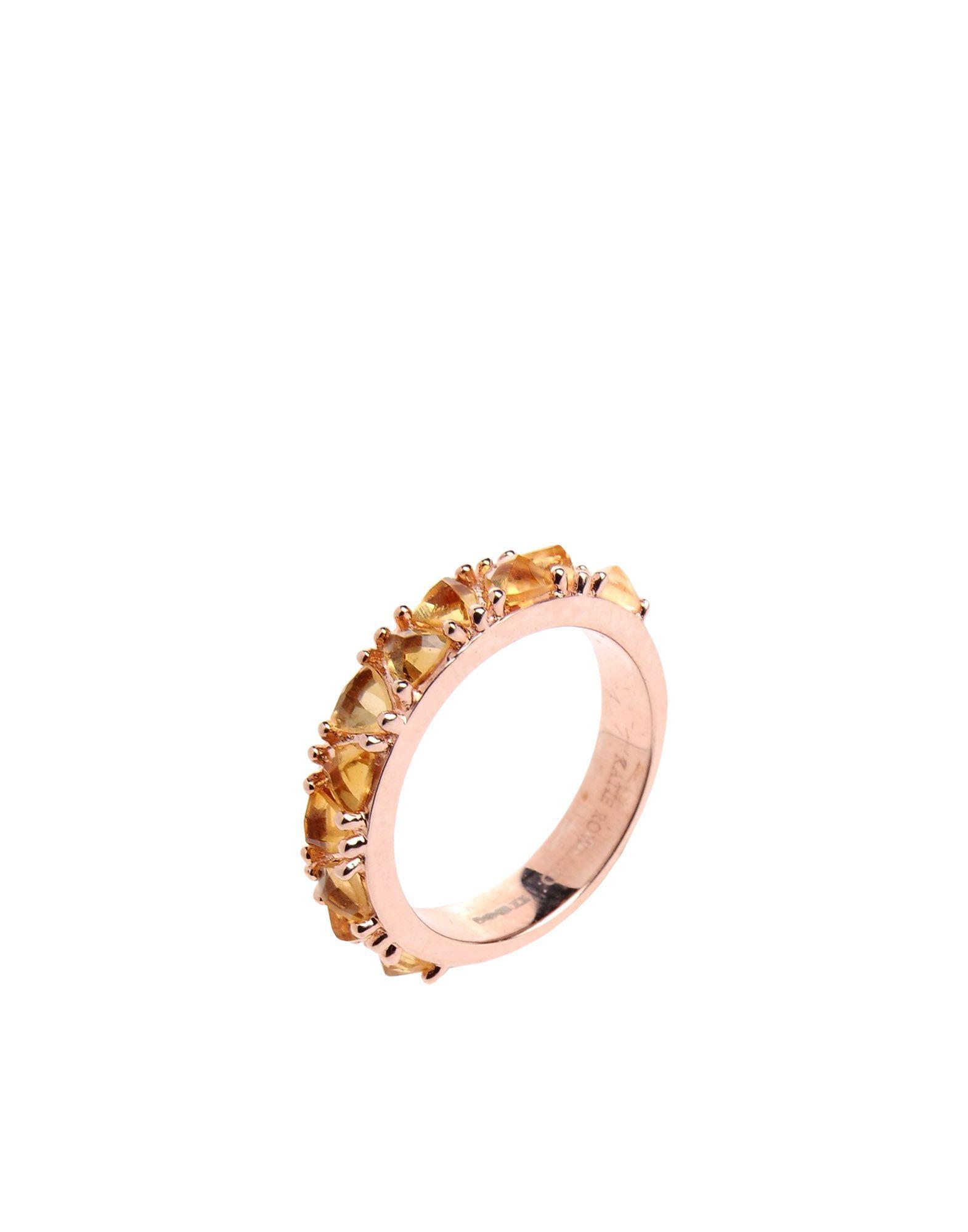 KATIE ROWLAND Damen Ring Farbe Rosa Größe 15