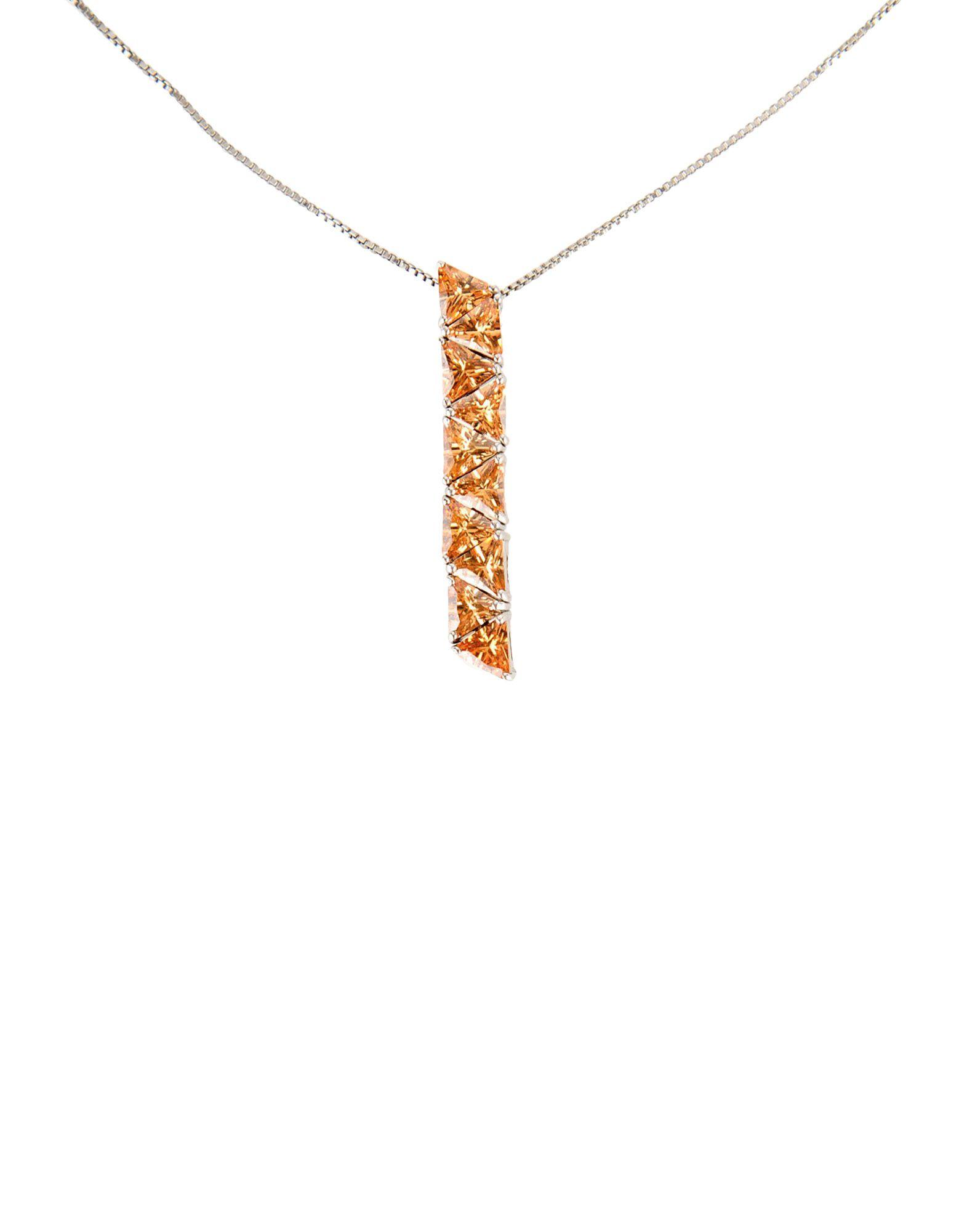 BLUMARINE Damen Halskette Farbe Orange Größe 1