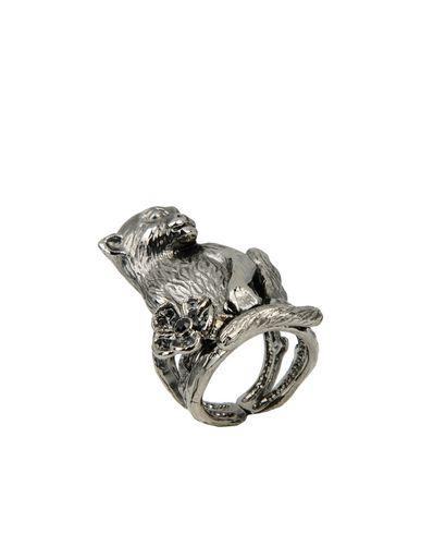 Фото - Женское кольцо  цвет стальной серый