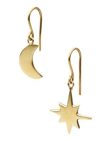 HIRO + WOLF Boucles d'oreilles femme. Hiro + Wolf produit l'ensemble de ses bijoux en collaboration avec de petits artisans et groupes d'artisanat au
