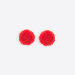 BALENCIAGA Button Jewelry Woman Button Earrings f