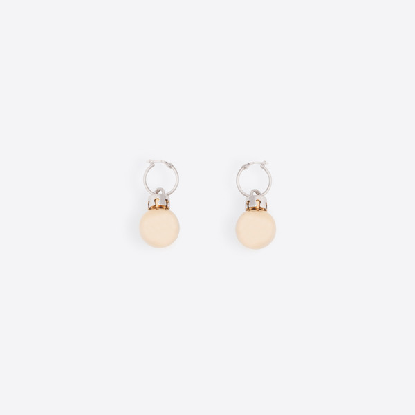 December Earrings Ball