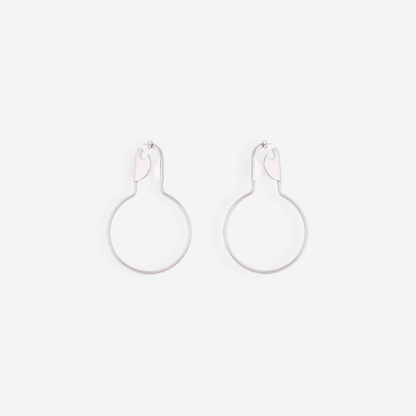 Safety Hoop Earrings