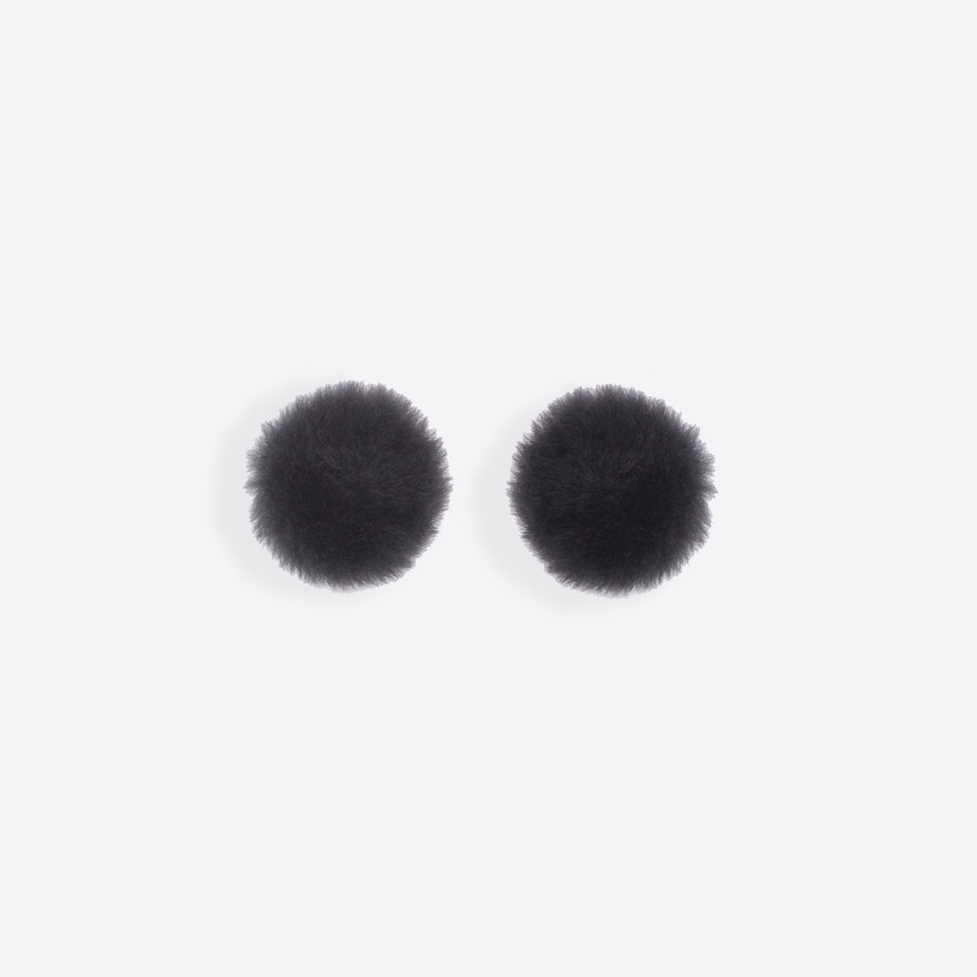 BALENCIAGA Button Earrings Button Jewelry D f