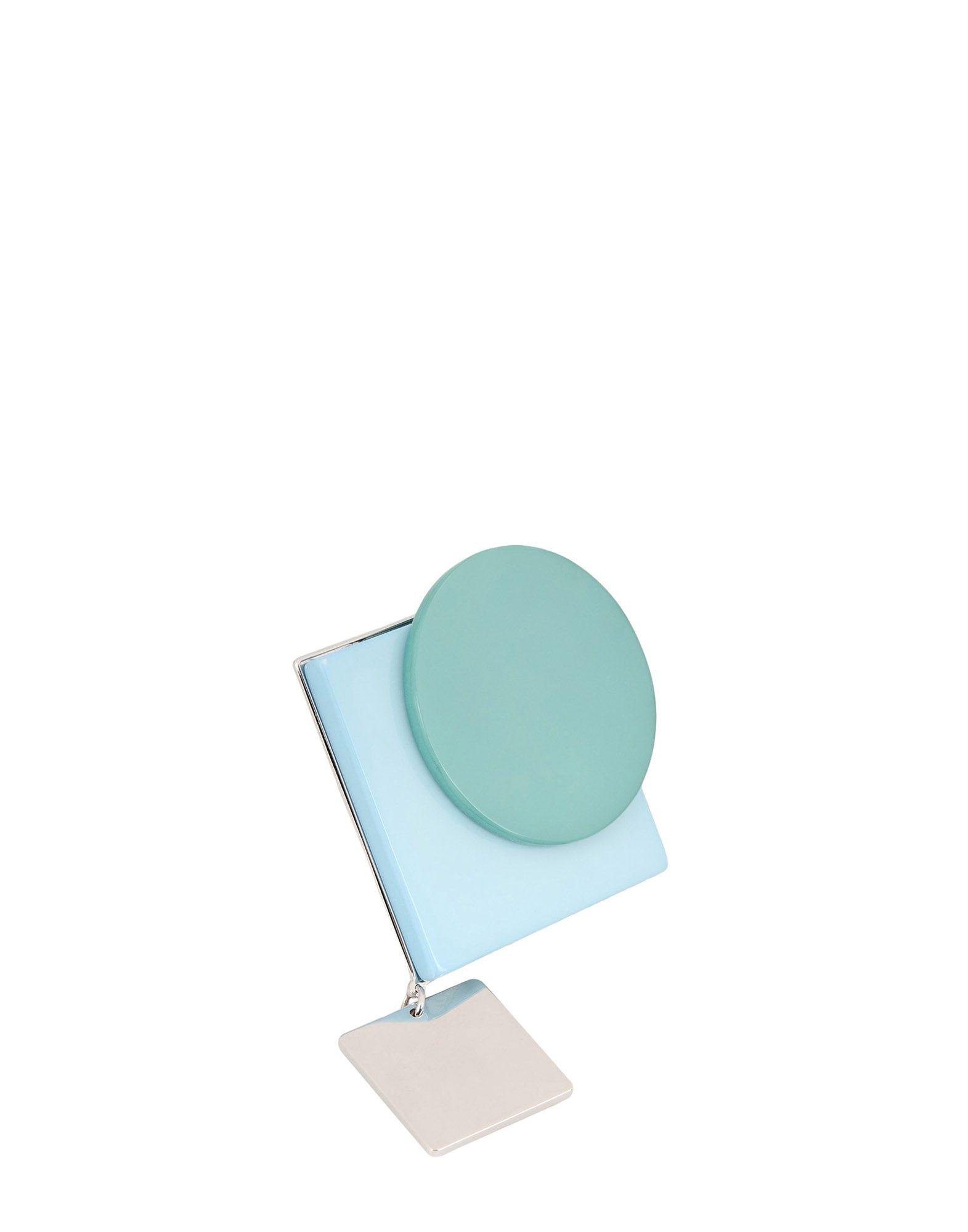 《送料無料》MAISON MARGIELA レディース 指輪 ライトグリーン one size 金属 / 真鍮/ブラス