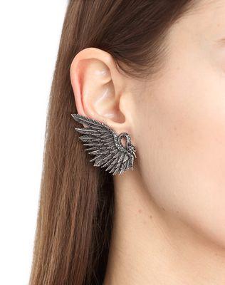 LANVIN SWAN EARRINGS Earrings D r
