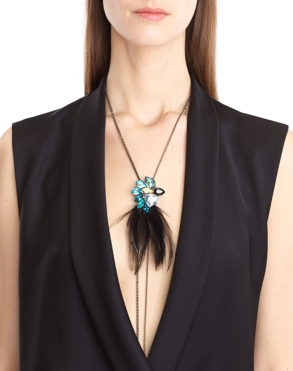 FEATHER NECKLACE - Lanvin