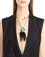 LANVIN Necklace Woman FEATHER NECKLACE f