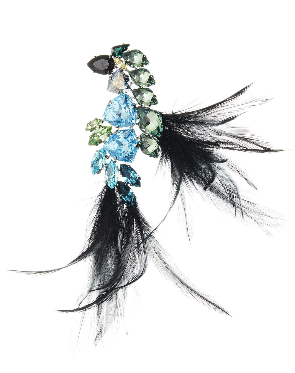 FEATHER BROOCH - Lanvin