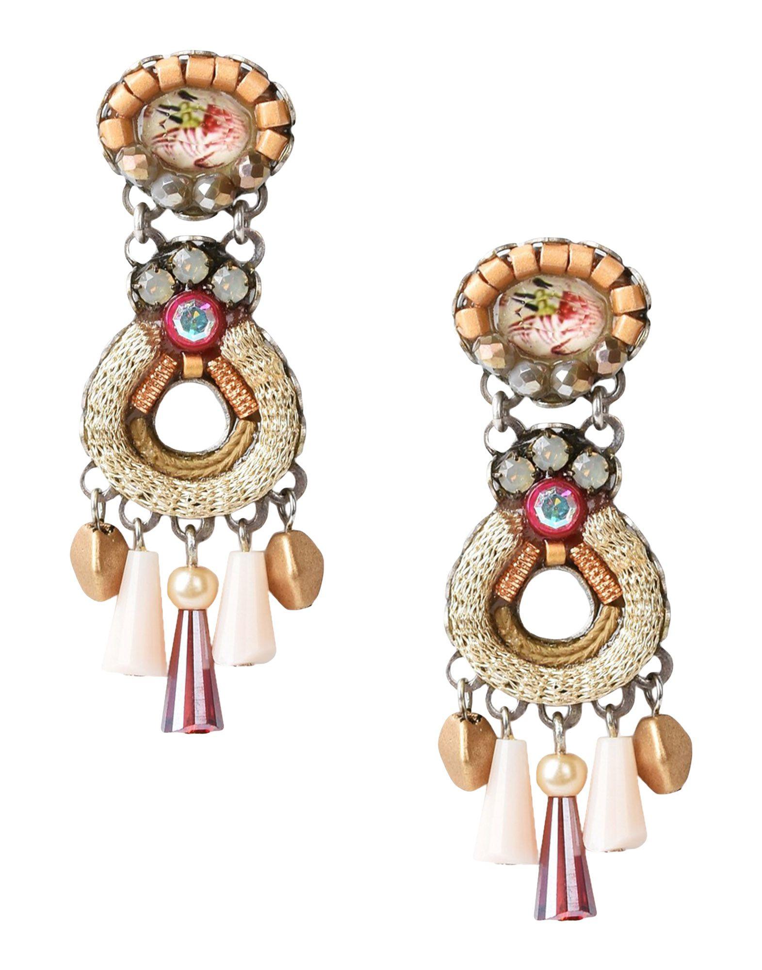AYALA BAR Earrings in Beige