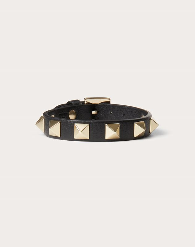 Black VLTN Double Bracelet ヴァレンティノ ブレスレット