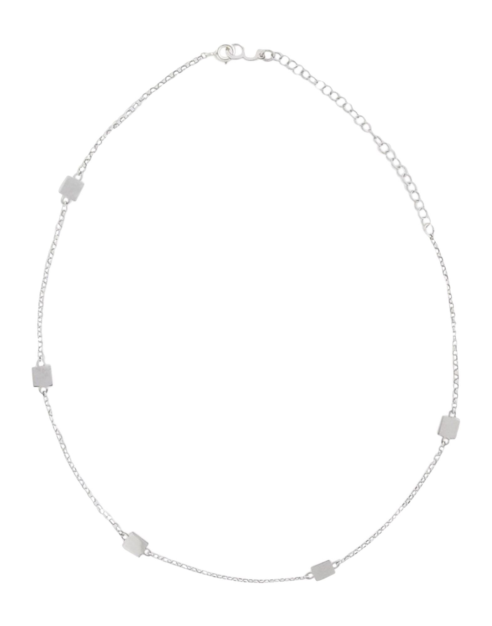 FIRST PEOPLE FIRST レディース ネックレス CHOKER SQUARE シルバー