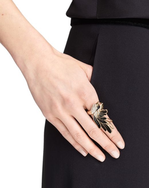 lanvin bird ring women