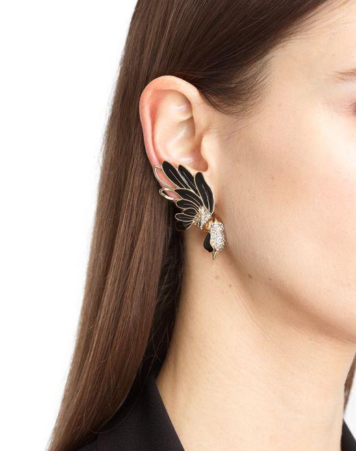 lanvin bird earrings women