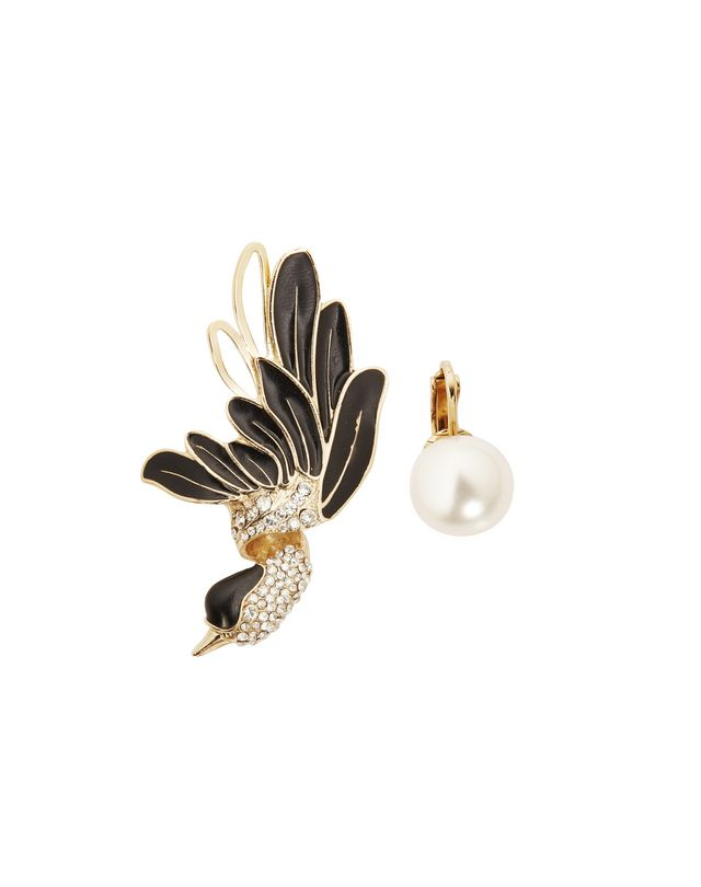 LANVIN BIRD EARRINGS Earrings D f