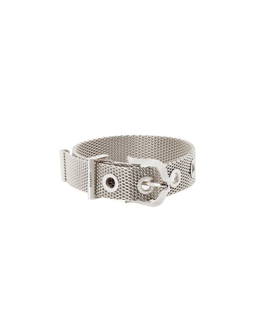 lanvin double chain bracelet women