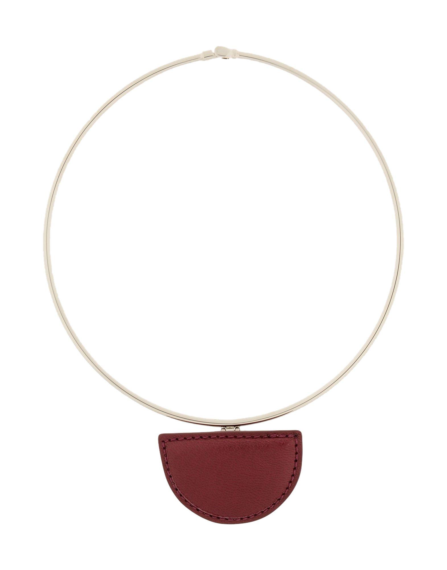 Necklace, Maroon