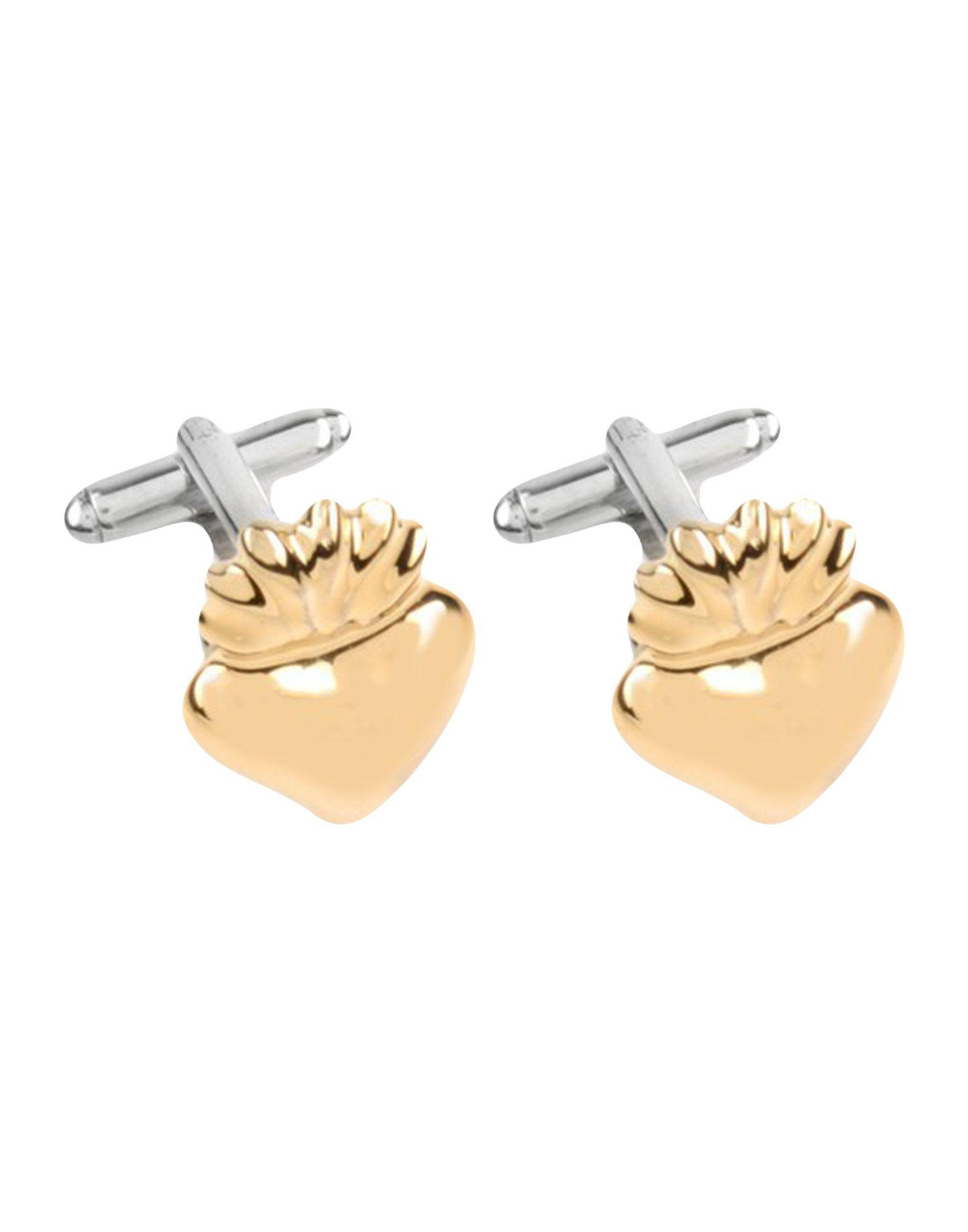 《送料無料》COR SINE LABE DOLI メンズ カフリンク&タイピン ゴールド 陶製 100% / ザマック合金