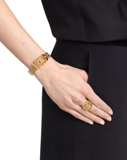 lanvin chain ring women