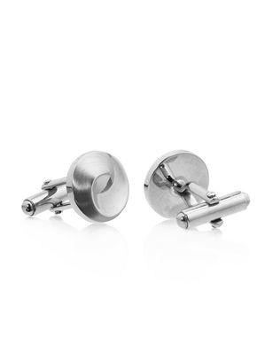 LANVIN Silver-plated metal cuff links Cufflinks U f