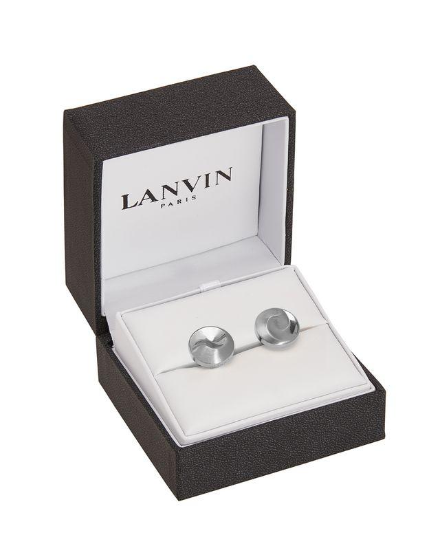 LANVIN Silver-plated metal cuff links Cufflinks U r