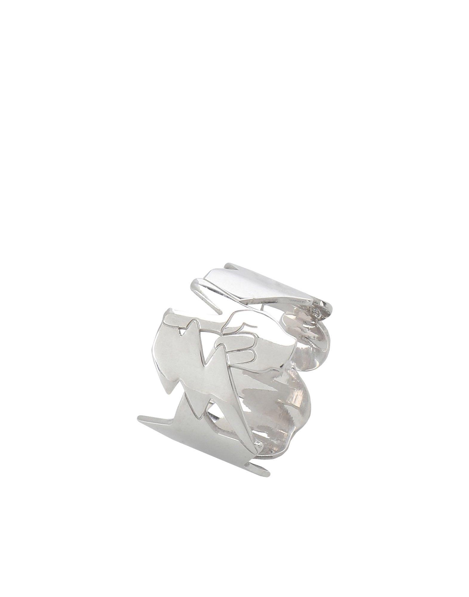 《セール開催中》FIRST PEOPLE FIRST レディース 指輪 シルバー one size シルバー925/1000 FUN RING EMOTICONS