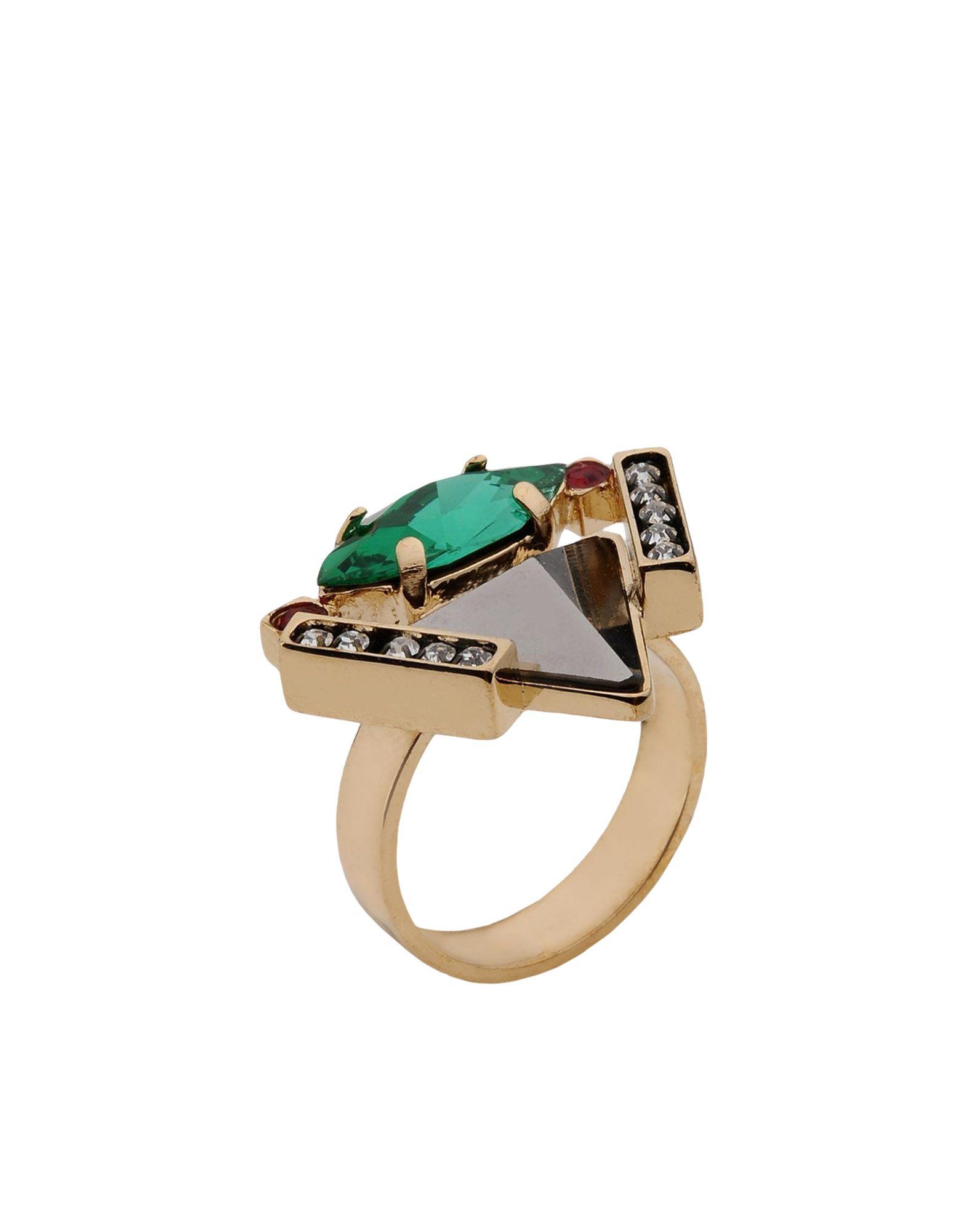 《送料無料》IOSSELLIANI レディース 指輪 鉛色 15 金属