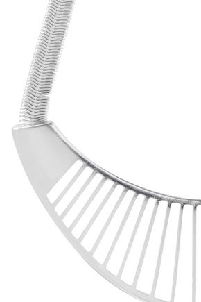 KENNETH JAY LANE Silver-tone necklace