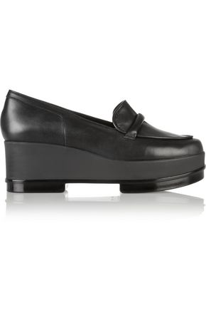 ROBERT CLERGERIE Yokole leather loafers