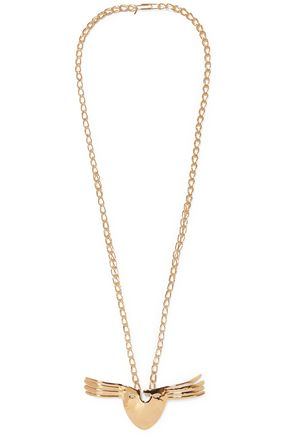 AURÉLIE BIDERMANN Melina gold-plated necklace