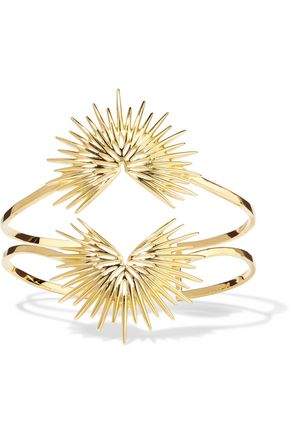 NOIR JEWELRY Gold-tone cuff