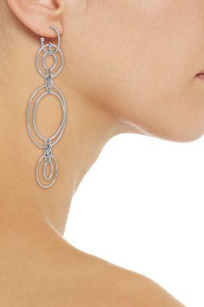 NOIR JEWELRY Silver-tone earrings