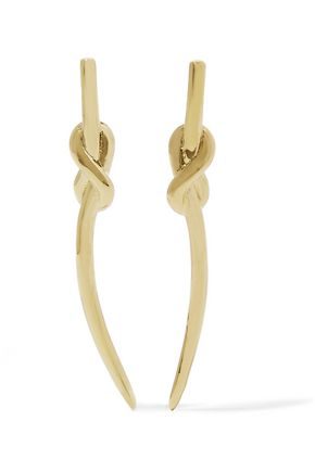 NOIR JEWELRY Gold-tone earrings