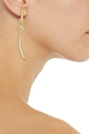 NOIR JEWELRY Gold-tone earrings