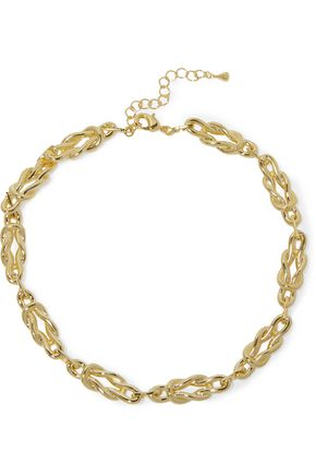 NOIR JEWELRY Gold-tone necklace