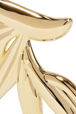 NOIR JEWELRY Gold-tone choker