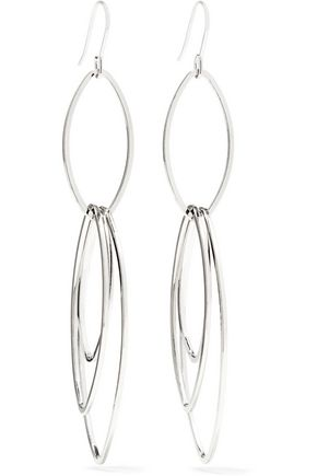 KENNETH JAY LANE Silver-tone earrings