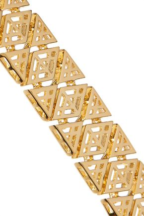 NOIR JEWELRY Totem gold-tone bracelet