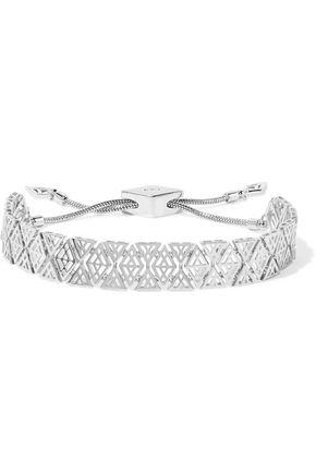 NOIR JEWELRY Totem silver-tone bracelet