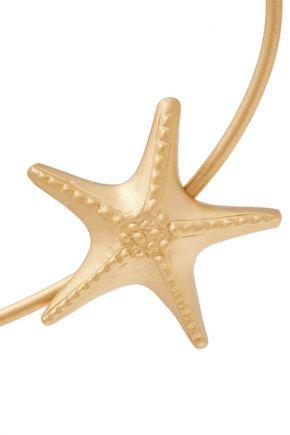 VALENTINO GARAVANI Embellished gold-tone bracelet