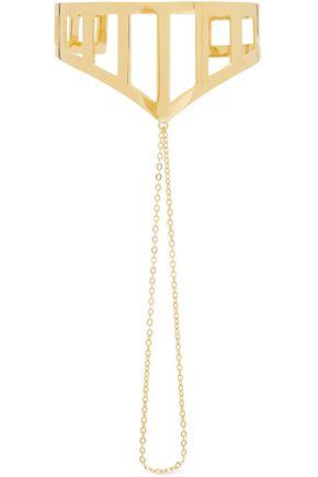 ARME DE L'AMOUR Gold-plated chain bracelet
