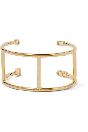 ELIZABETH AND JAMES Gold-plated bracelet