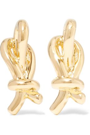 ELIZABETH AND JAMES Talis gold-plated earrings